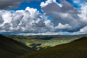 valley, agriculture, ambato, sembrios, andes, ecuador, nubes