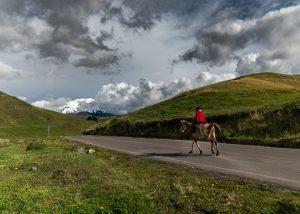 road, camino, chimborazo, caballo, chagra, horse andes, ecuador, fotos ecuador