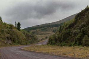 camino cotopaxi ecuador