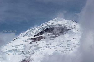 andes glaciar cotopaxi ecuador