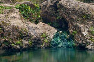 vertiente agua termal
